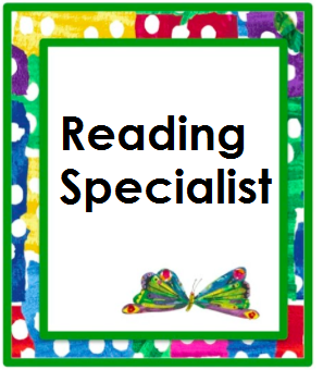 Reading Specialist Class Page